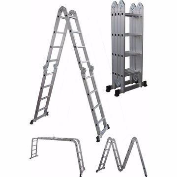 escalera profesional multiuso 3,7m inc iva y garantia