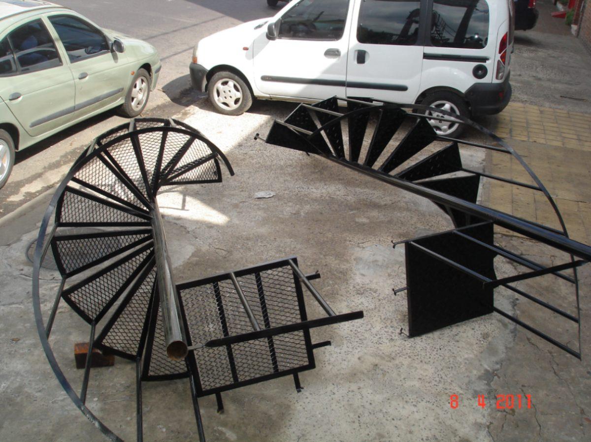 Escalera Reforzada Caracol O Recta De Chapa Ciudadela 10 500  ~ Precios De Escaleras De Caracol