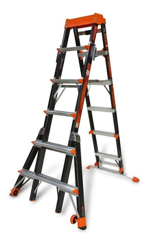 escalera select step  6'-10' alum little giant 15131 + envio