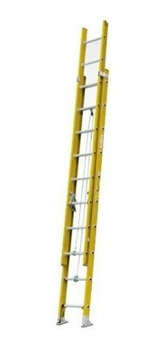 escalera t fibra vidrio 28p 7,60mt. prodalum.