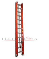 escalera telescopica  7.32mt inco fibra de vidrio 24peldaños