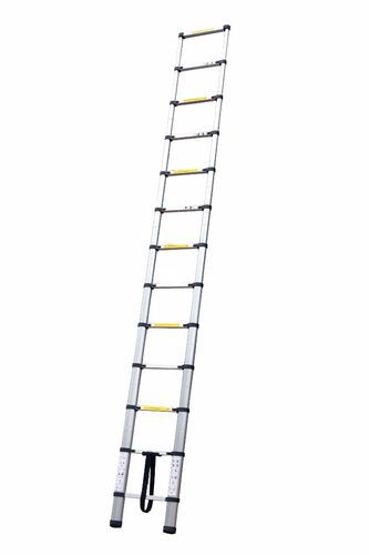 Escalera telescopica retractil 3 8 metros incluye mochila for Escaleras 8 metros precio