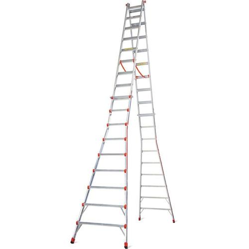 escalera telescópica skyscraper 17' little giant mod. 10110