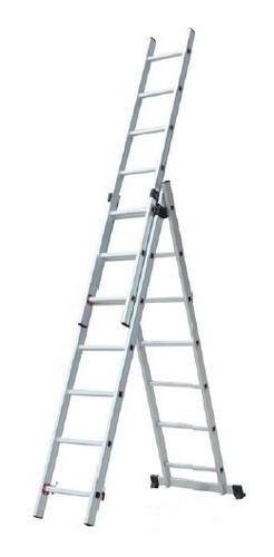 escalera tijera con extension 3x9
