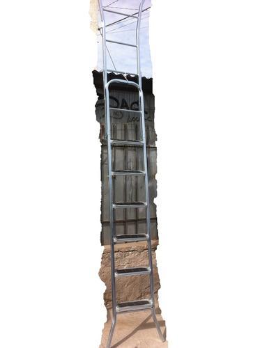 Escalera tijera metalica pelda os engomados - Escalera metalica prefabricada ...