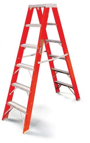escalera tijera plegable doble 26 escalones akron 80-89