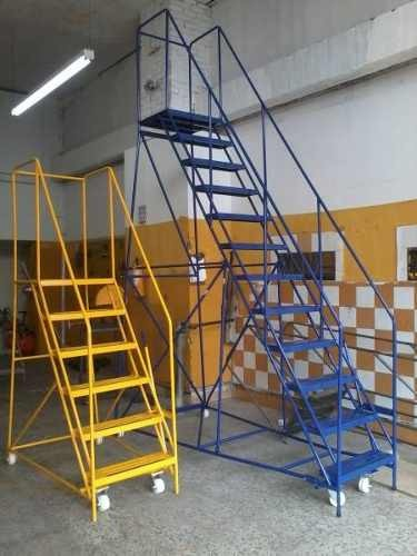 Escalera tipo avion para almacenes y mucho mas - Escaleras para almacenes ...