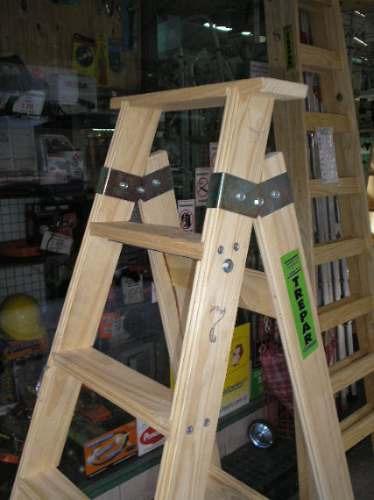escalera tipo familiar de madera de 7 peldaos - Como Hacer Escaleras De Madera
