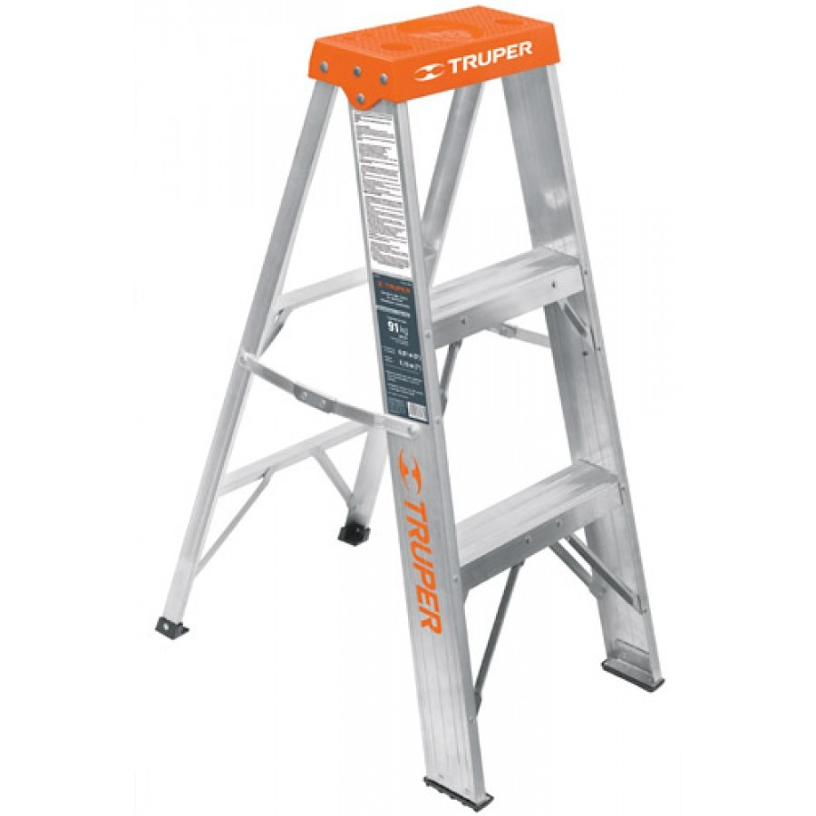 Escalera tipo tijera t3 con 2 escalones sin bandeja en mercado libre - Tipo de escaleras ...