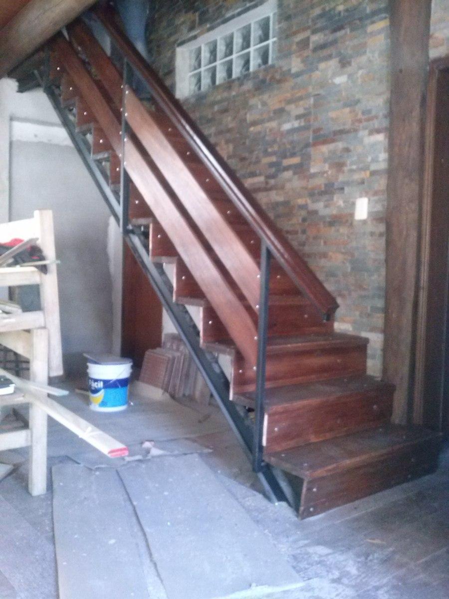 Escaleras en mercado libre - Escaleras de hierro y madera para interiores ...