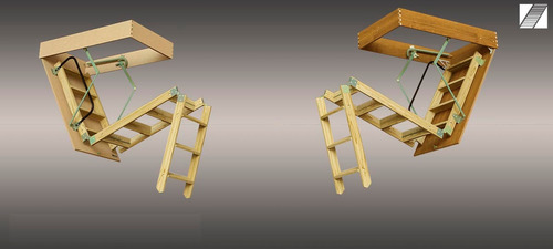 escaleras altillos madera enchapada cedro baranda y contr-