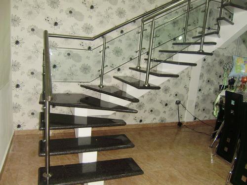 escaleras barandas pasamanos acero inoxidable cristal