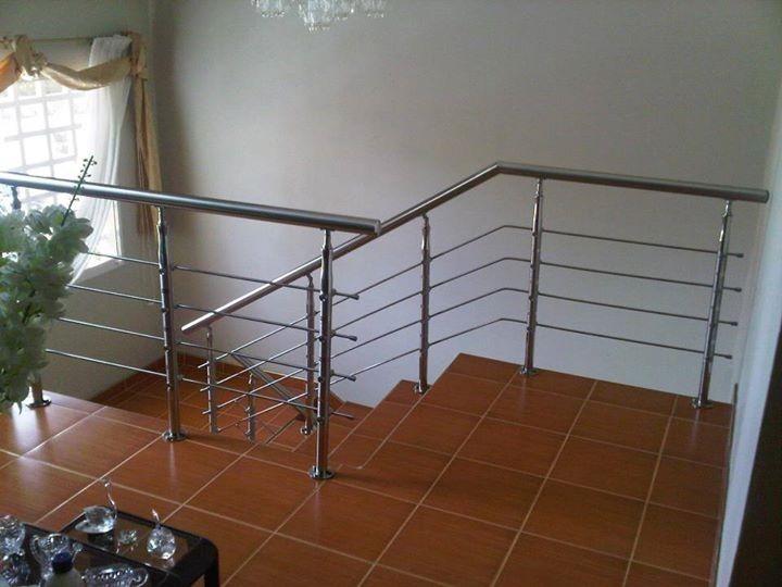 Escaleras barandas posamanos acero inoxidable - Barandas de inoxidable ...