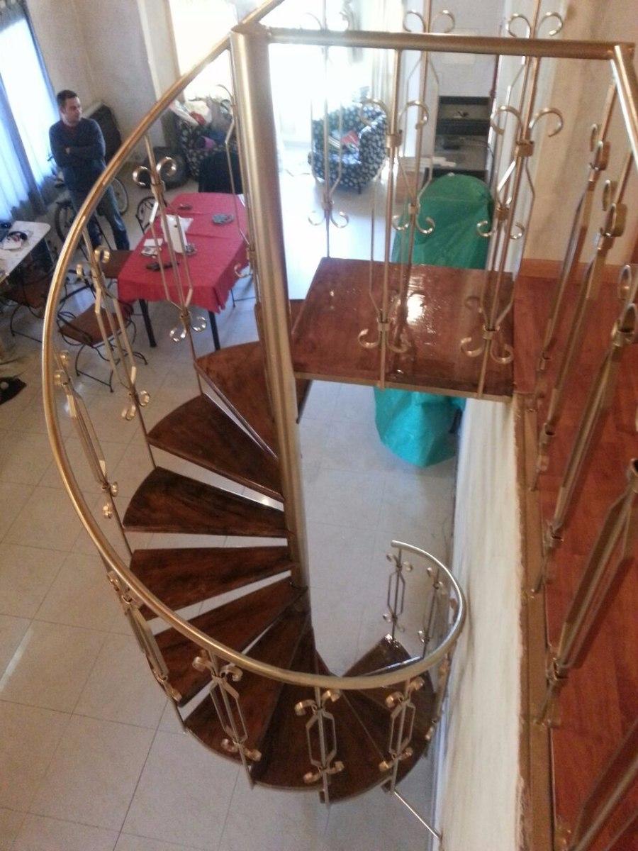 escaleras caracol colonial en madera escaleras de interior