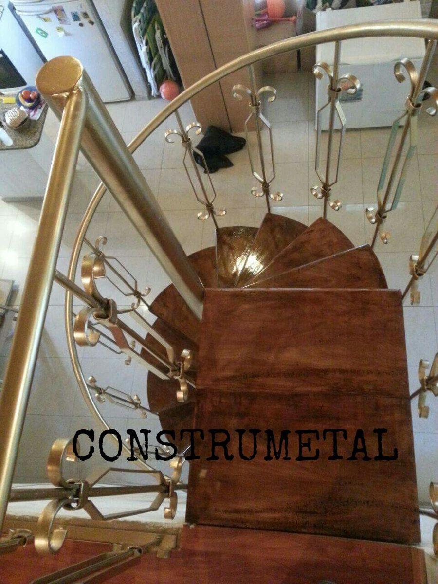 Escaleras de caracol de madera para interiores free salas for Como realizar una escalera caracol