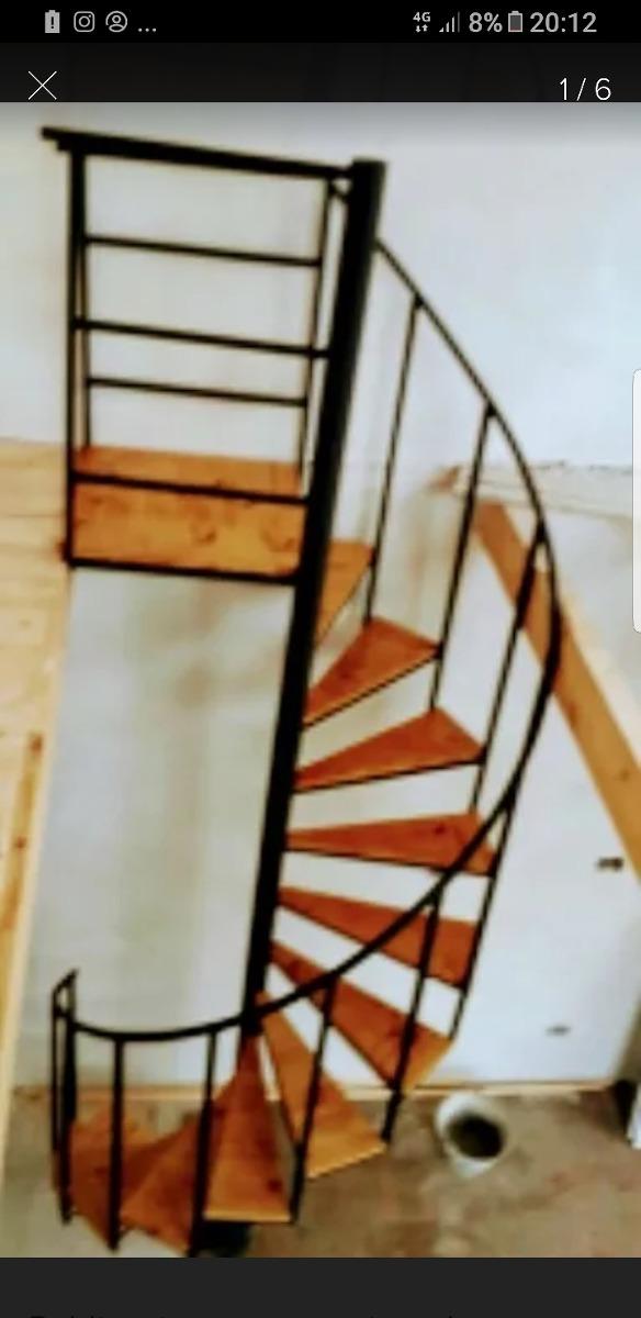 Escaleras De Caracol De Madera Para Interiores. Amazing Esta ...