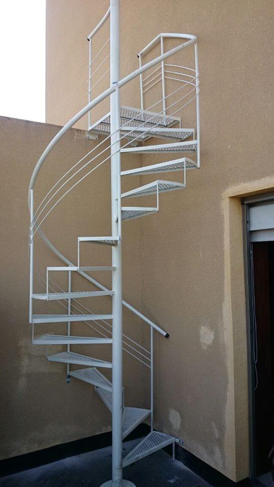 Escaleras de caracol vistas desde arriba good escaleras modulares with escaleras de caracol - Escaleras de caracol economicas ...