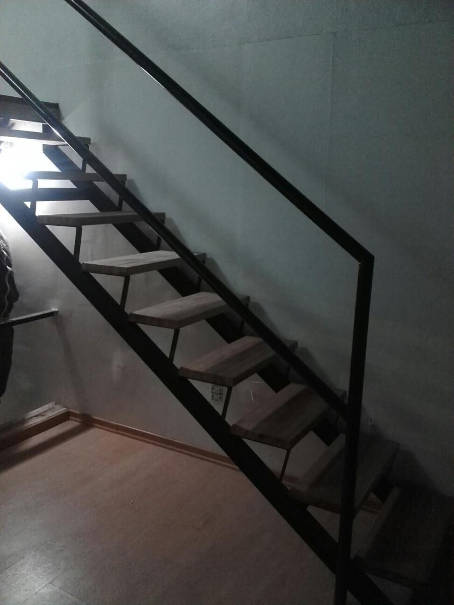 Escaleras caracol y rectas hierro y madera en for Escaleras de fierro para casa