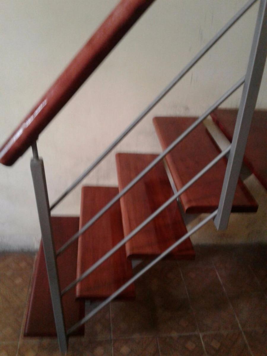 Escaleras Combinadas En Hierro Madera Interior Y Exterior  ~ Barandas De Hierro Para Escaleras Interiores