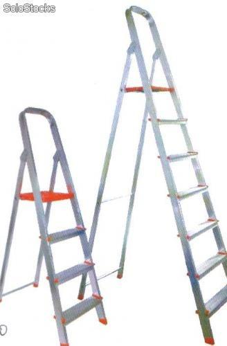 Escaleras de aluminio reforzadas 3 escalones for Precio escalera aluminio