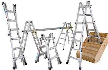 escaleras de aluminio y fibra de vidrio marca werner