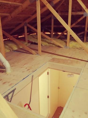escaleras de áticos + instalación