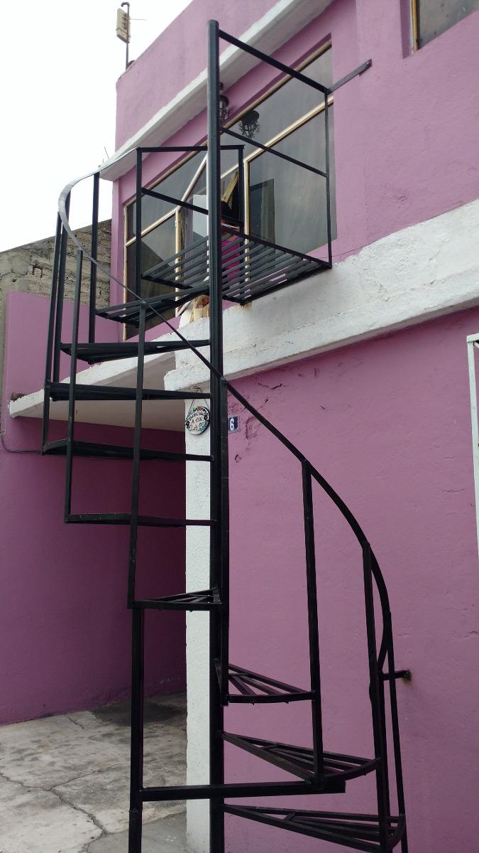 Escaleras de caracol y recta nuevas 2 en for Escaleras de metal exteriores