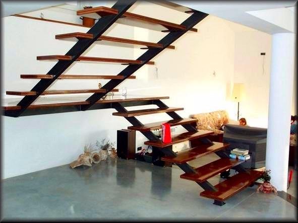 Escaleras de herreria en mercado libre - Modelos de escaleras ...