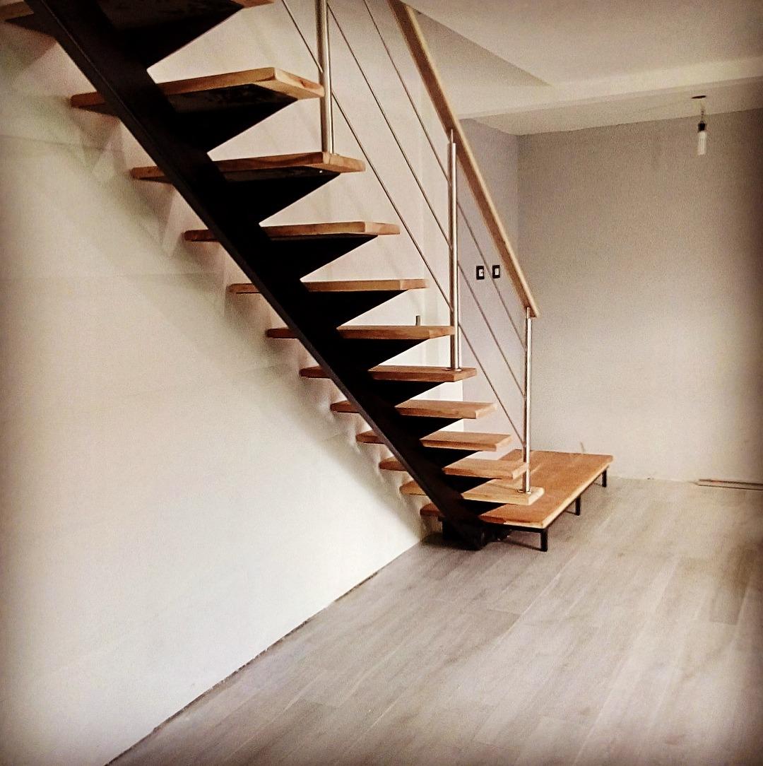 Escaleras de hierro y madera 500 en mercado libre - Escalera para buhardilla ...