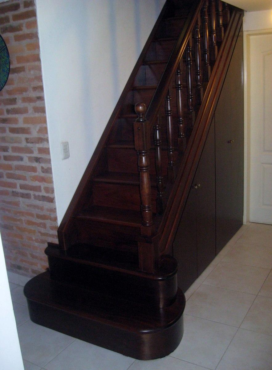 Escaleras de madera escaleras interiores revestimientos for Escaleras interiores precios