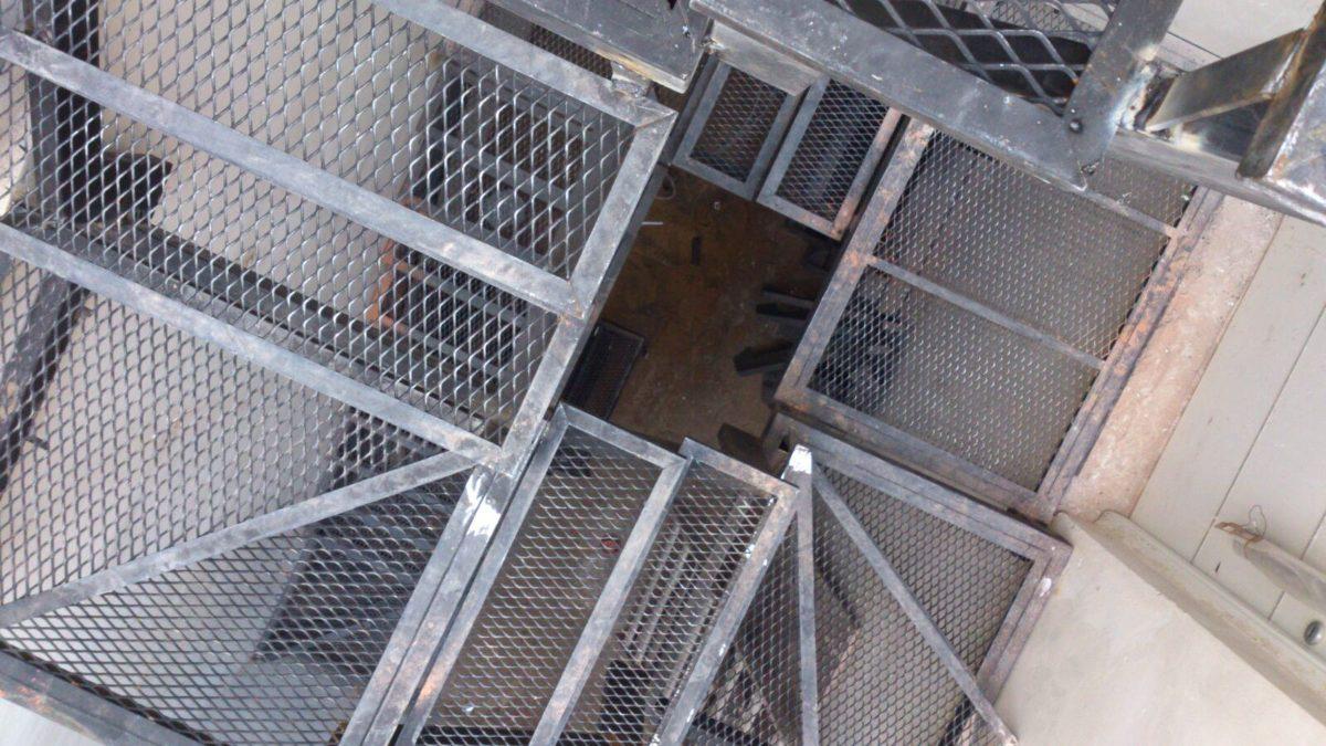 Escaleras En Hierro 950 00 En Mercado Libre ~ Materiales Para Peldaños De Escaleras Interiores
