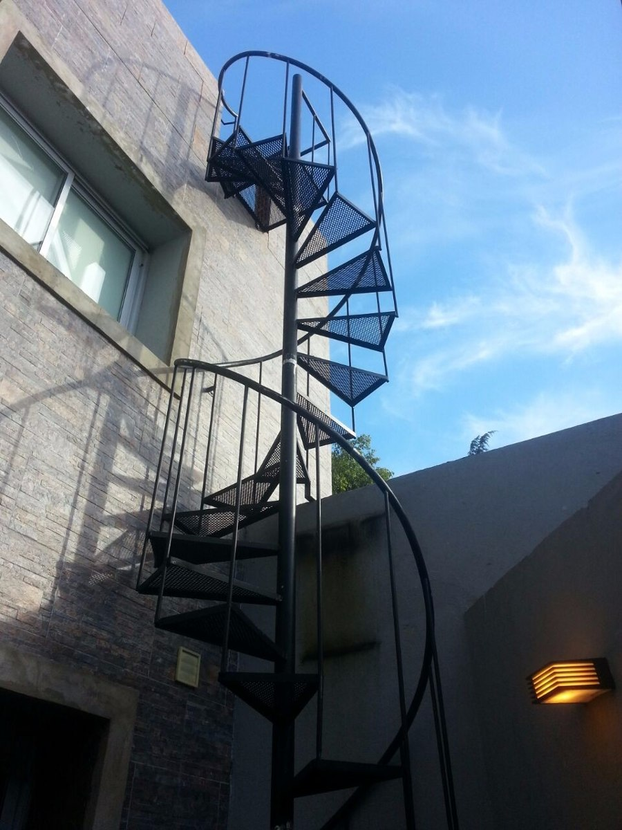 Escaleras Caracol Escaleras De Exterior Escalera Metalica  ~ Precios De Escaleras De Caracol