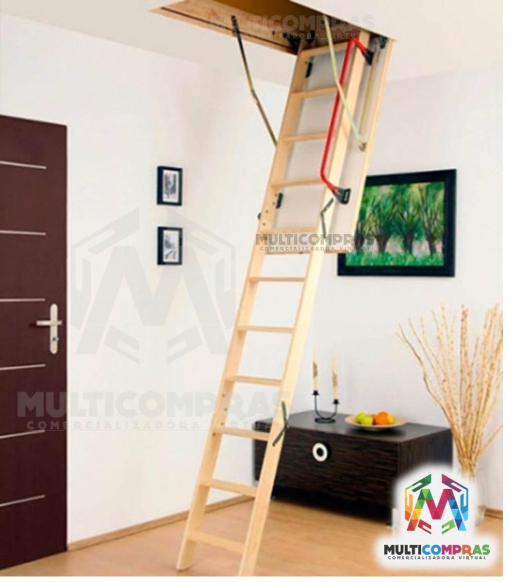 Escaleras para altillo tico plegables techo cielo - Escalera plegable altillo ...