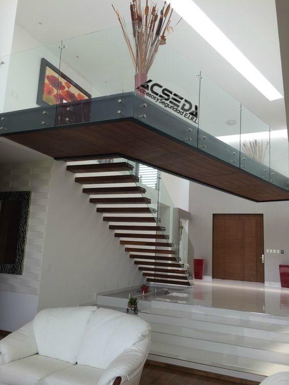 Escaleras para duplex y departamentos excelentes acabados for Escaleras de duplex