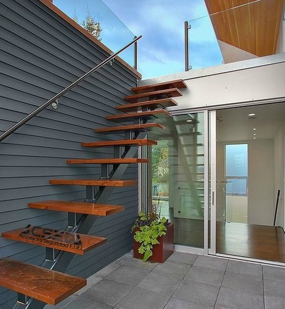Escaleras para edificios departamentos y duplex s 100 - Escaleras para duplex ...