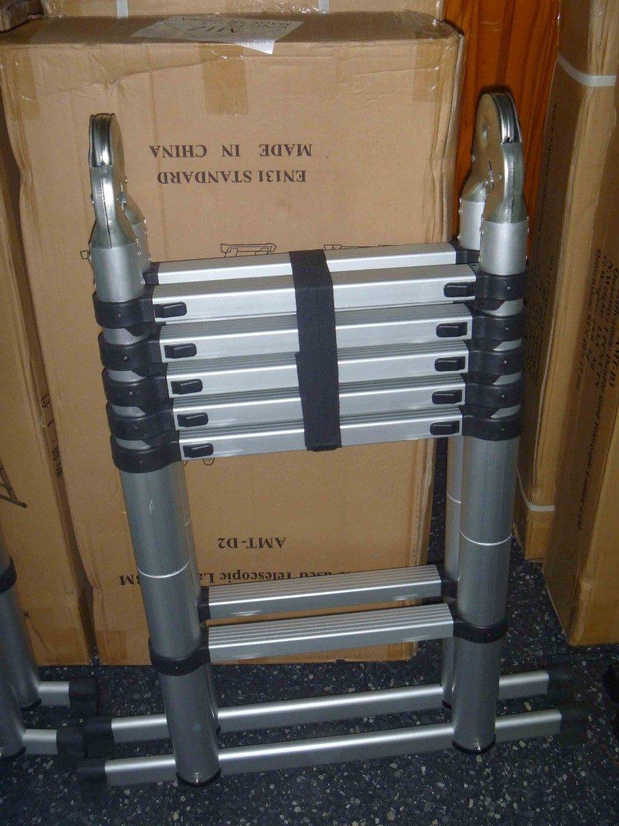 Escaleras plegable y telescopicas en aluminio - Escaleras para altillos plegables ...
