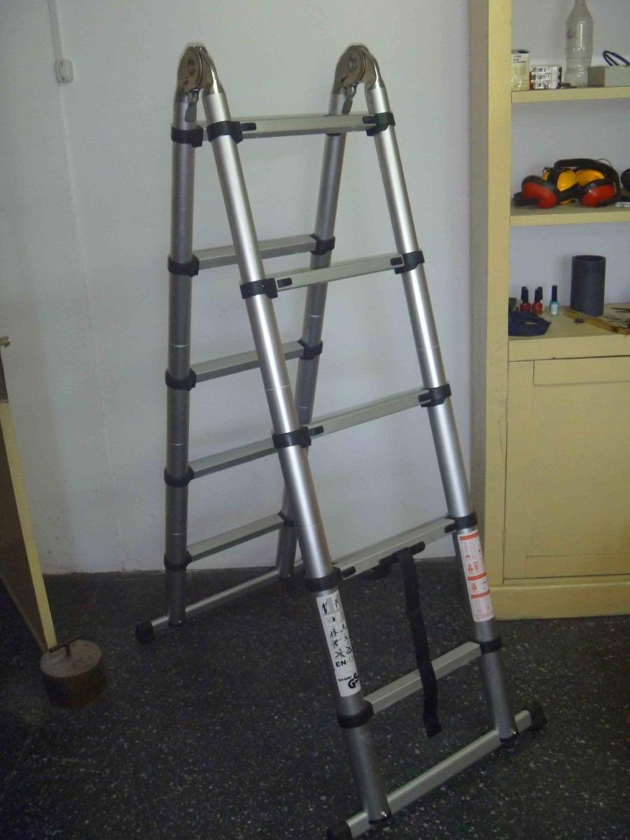 Escaleras plegable y telescopicas en aluminio for Escalera aluminio plegable