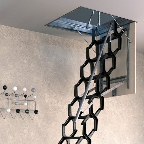 escaleras plegables de altillo rintar adj 70x100 cm