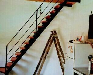 escaleras rectas