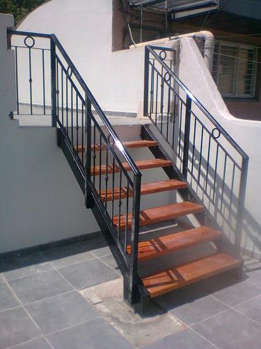 escaleras rectas, compensadas, standar y de diseño. herrería