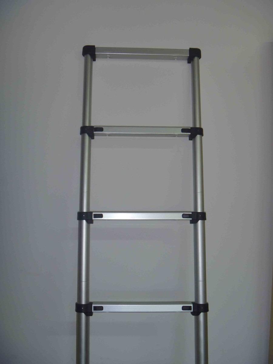 Escaleras telescopicas en aluminio 9 escalones 2 for Oferta escalera aluminio