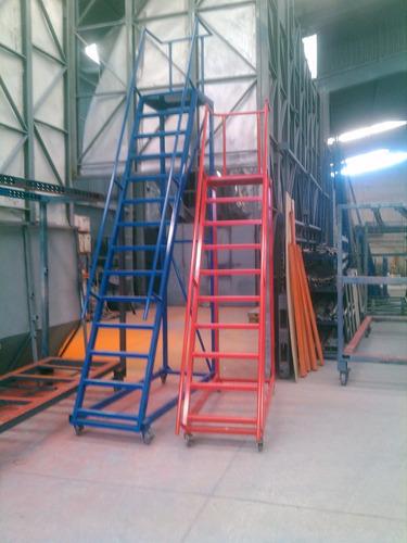 Escaleras tipo avion para almacen altura 1 en for Cuanto vale una escalera