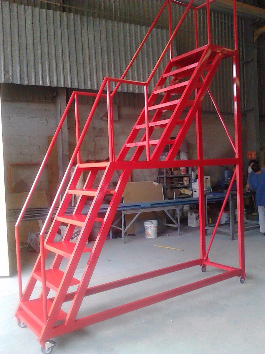 Escaleras tipo avion para almacen altura en - Escaleras para almacen ...