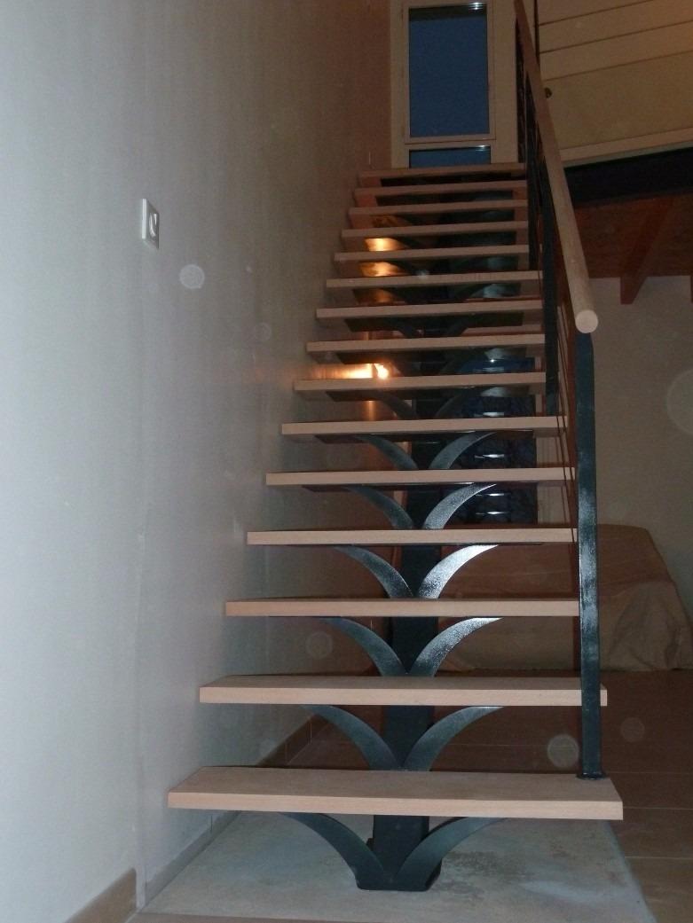 escaleras vidrio metlicas madera y acero inoxidable