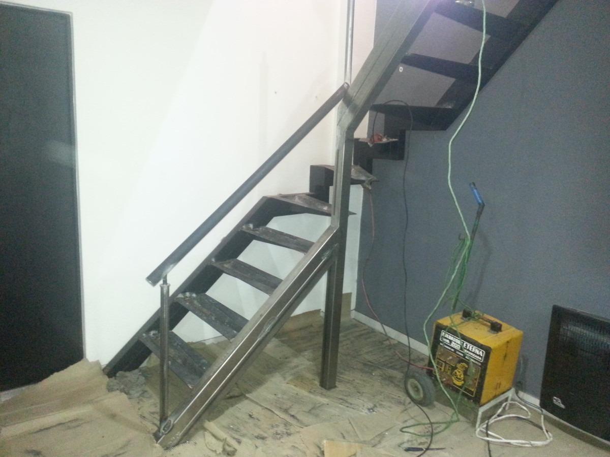 de hierro con madera with barandas para escaleras de hierro