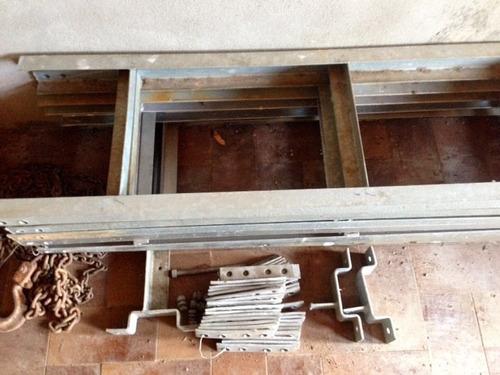 escalerilla galvanizada de 3,00 ml x  0.40 ml  portacables