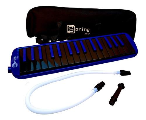 escaleta teclado de sopro c/ 32 teclas completa sg32+ spring