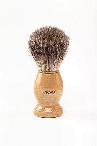 escali 100% puro badger brocha afeitar