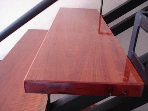 escalon en madera dura super resistente!