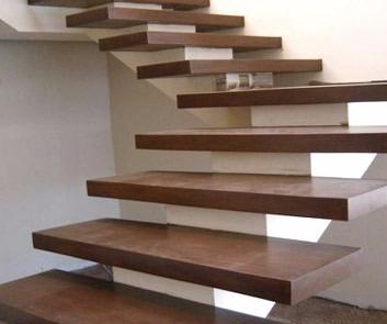 escalon madera lapacho, cep.lij, de 4 cm esp. x 24 x 80 cm - mader shop